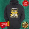 Official Proud Nana of a 2021 Graduate Gold Hoodie