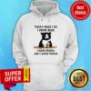 Official That's What I Do I Drink Beer I Hate People And I Know Things Hoodie