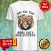 Premium Joe Exotic Tiger Hey All You Cool Cats V-neck