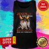 Top Jesus Is My Savior Boston Terriers Are My Therapy Tank Top