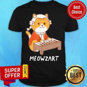 Awesome Meowzart Cat Play Piano Shirt