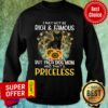 Black Cat Not Maybe Rich & Famous But A Cat Mom And That's Priceless Sweatshirt