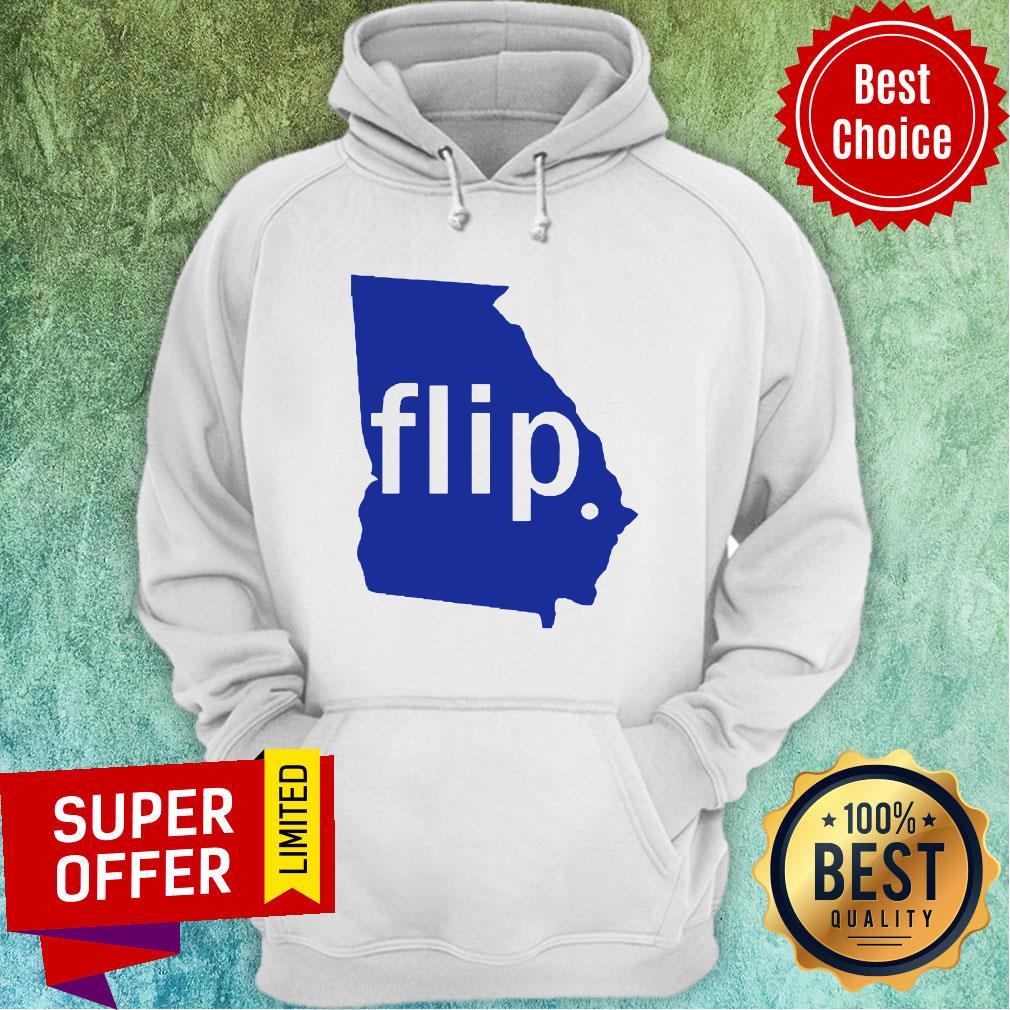 Official Georgia Flip Hoodie