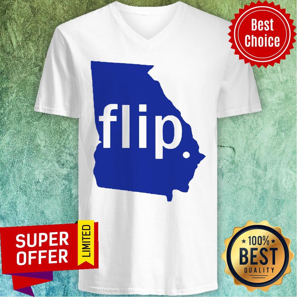 Official Georgia Flip V-neck