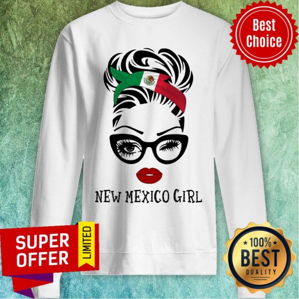 Official New Mexico Girl Sweatshirt