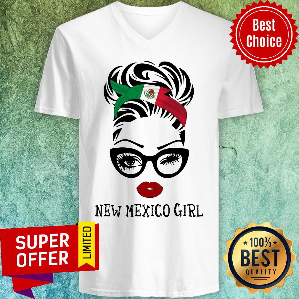 Official New Mexico Girl V-neck