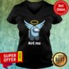 Premium Pas Moi Angel Not Me V-neck