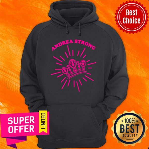 Official Andrea Strong Crown Hoodie