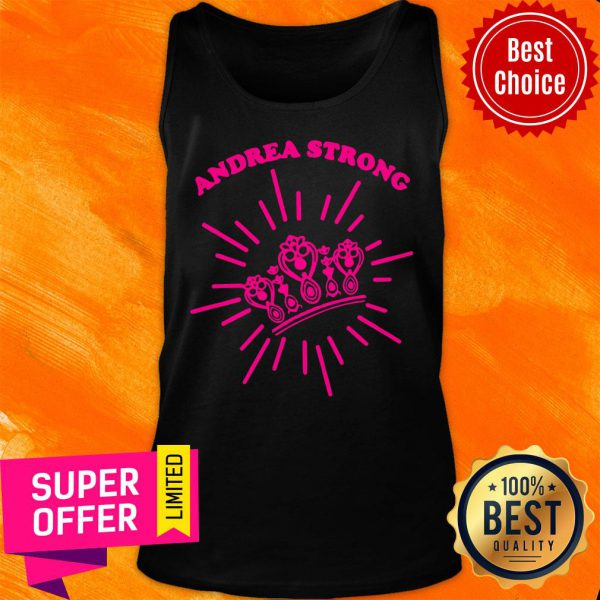 Official Andrea Strong Crown Tank Top