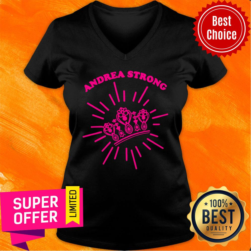 Official Andrea Strong Crown V-neck