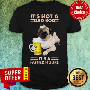 Pitbull It's Not A Dad Bod Dog It's A Father Figure Shirt