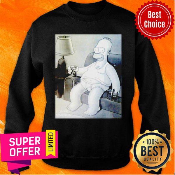 Premium Bart Simpson Sweatshirt