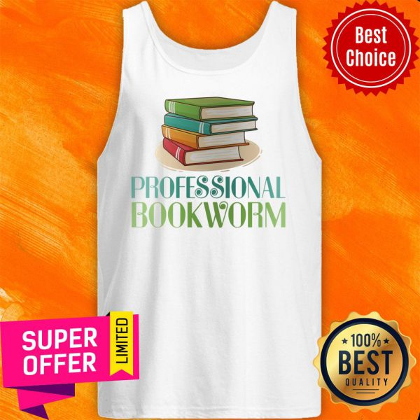 Awesome Professional Bookworm Tank Top