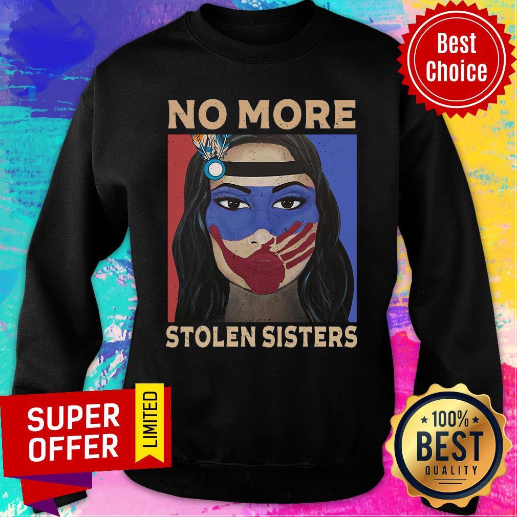 MMIWG Indigenous Women No More Stolen Sisters Sweatshirt