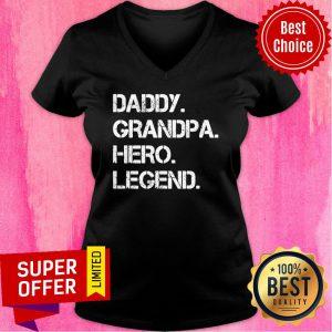 Nice Husband Daddy Hero Legend V-neck