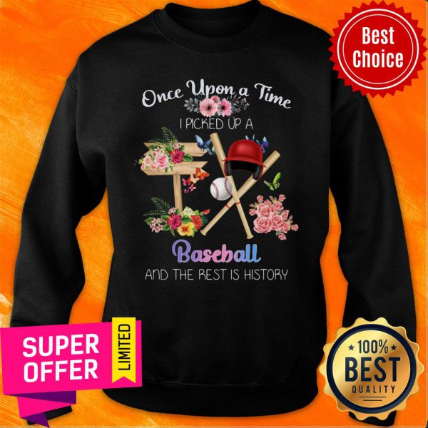 Once Upon A Time Picked Up A Baseball Sweatshirt
