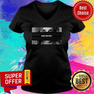 Premium Free Britney Spears V-neck