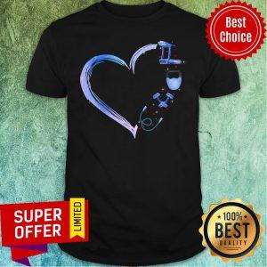 Premium Heart Love Fitness Shirt