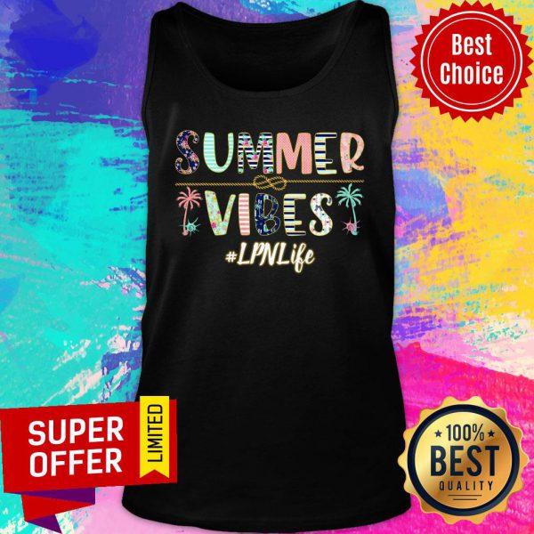 Summer Vibes LPN Life Tank Top