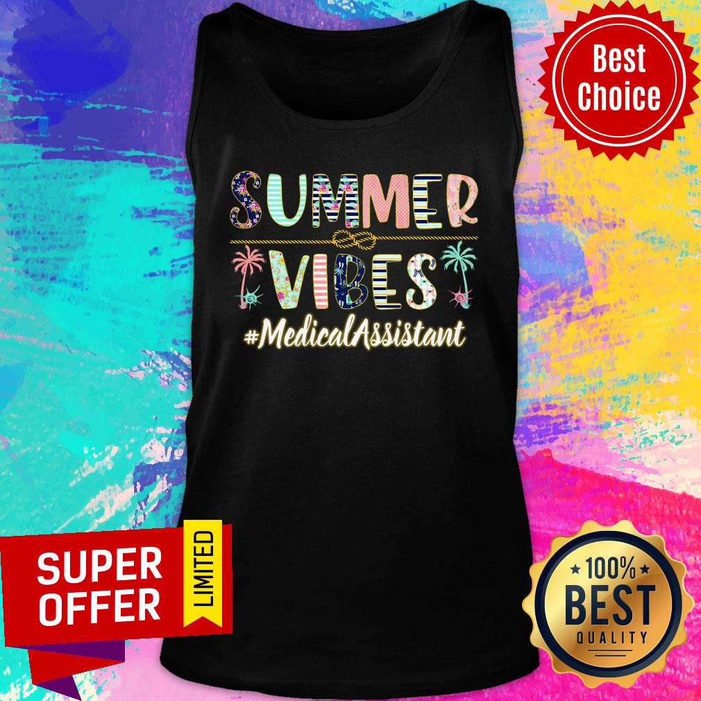 Summer Vibes Medical Assistant Tank Top