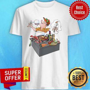 A Grillmaster Tasting Vine Shirt