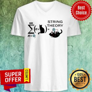 Awesome Cats String Theory V-neck