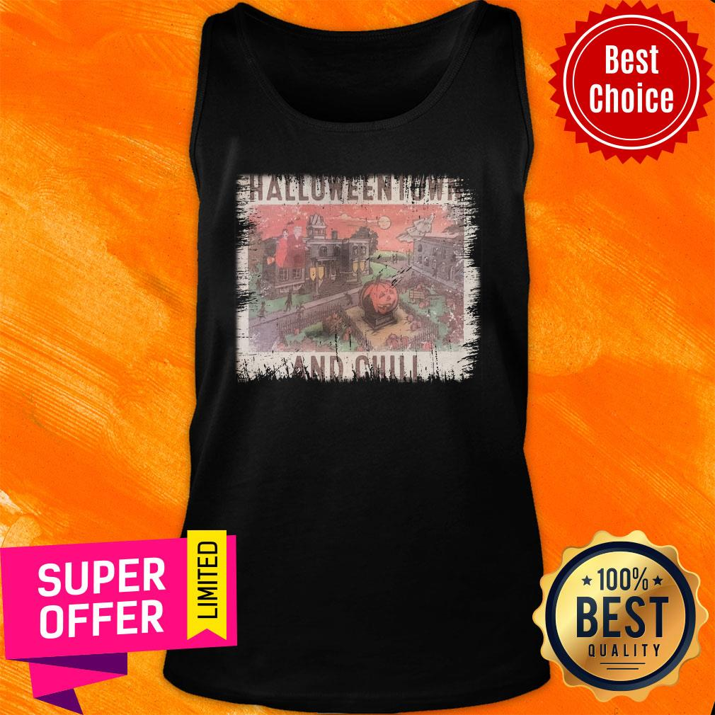 Awesome Halloweentown And Chill Tank Top