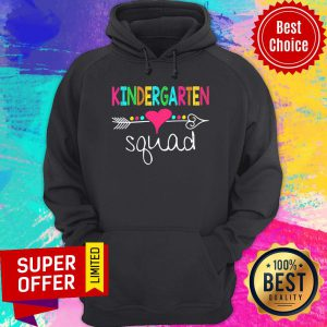 Awesome Kindergarten Love Squad Hoodie