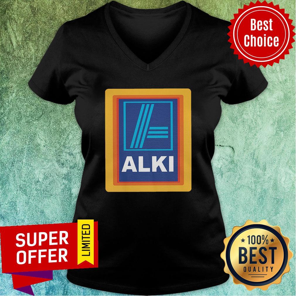Awesome Tellaldi Alki  V-neck