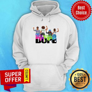 Beautiful Intelligent Powerfull Strong Black Woman Are Dope Hoodie