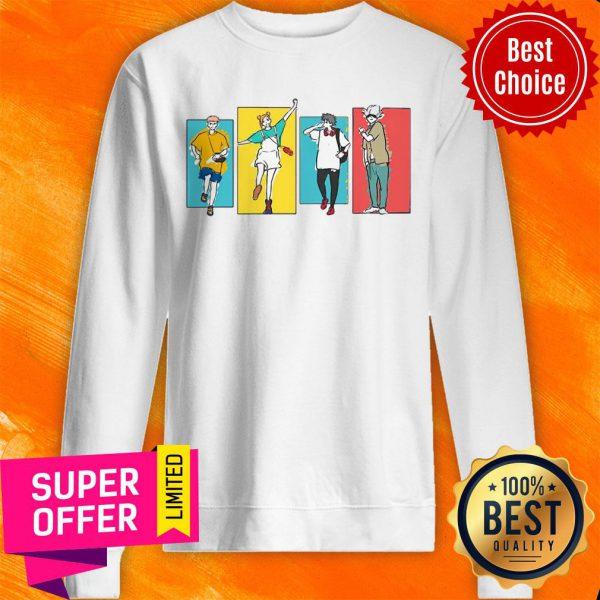 Premium Jujutsu Kaisen Friends Sweatshirt