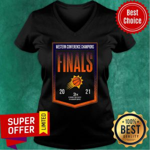Western Conference Champions Finals Conference Champions V-neck