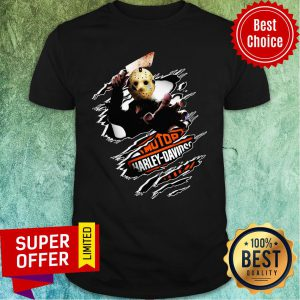 Jason Voorhees Motor Harley Davidson Blood Inside Me Shirt