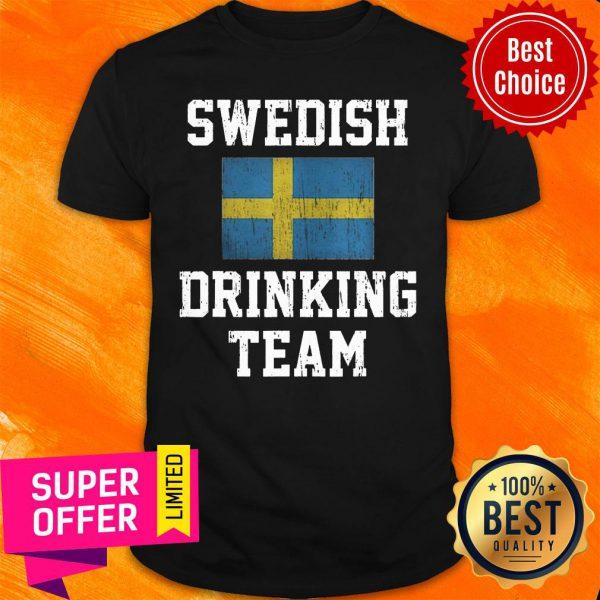 Vintage Swedish Drinking Team Shirt