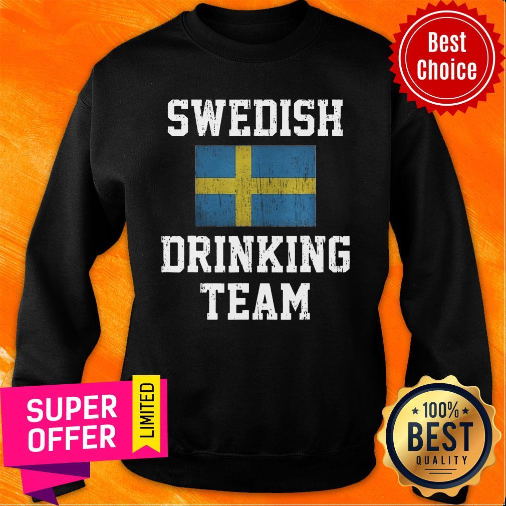 Vintage Swedish Drinking Team Sweatshirt
